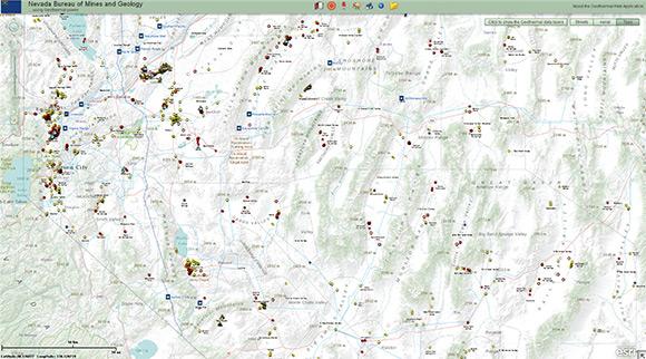 maps web interface