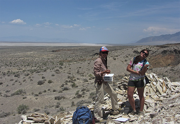 collecting geologic data